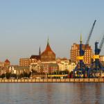 Stadthafen der Hansestadt Rostock. Foto: Martin Schuster