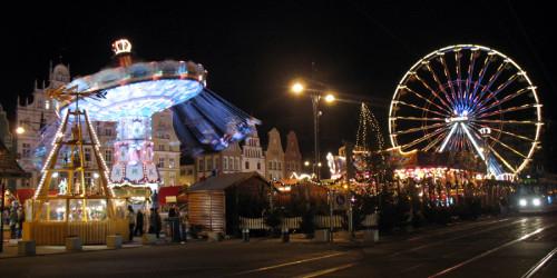 Rostocker Weihnachtsmarkt. Foto: Martin Schuster